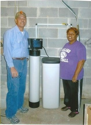 Happy Customers with their RainSoft Water Softener
